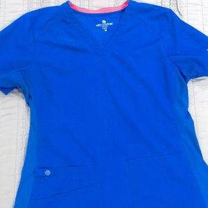 Med couture blue scrubs